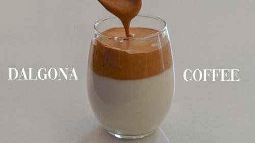 Dalgona Coffee – The Latest Craze!