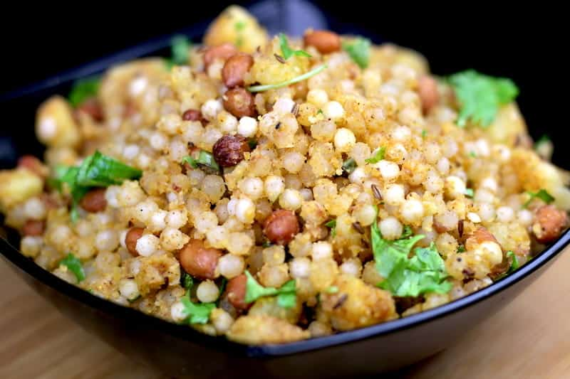 Sabudana khichdi – Indian meal